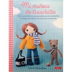 "Libro Ganchillo ""Mi muñeca de Ganchillo"". Autora Isabelle Kessedjian, editorial El Drac"