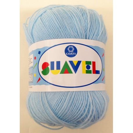 Lana Schachenmayr SUAVEL Azul bebé col. 07514. Lana suave especial para bebés.