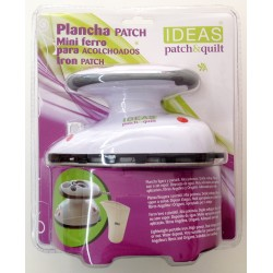 Mini plancha Patchwork 400w, con o sin vapor para patchwork, costura y manualidades. Ideas Patch&Quilt