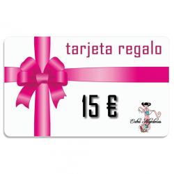 Tarjeta Regalo 15 €