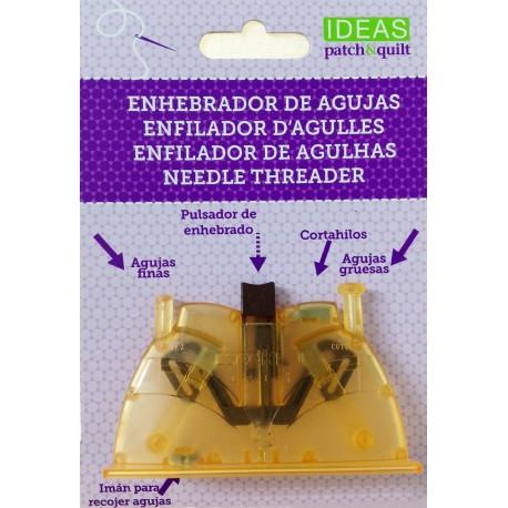 ENEBRADOR de agujas Ideas Patch&Quilt. Para agujas con agujero grande y pequeño.
