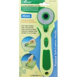 Cútter rotativo cuchilla recta 45 mm. Clover.