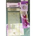 Kit de iniciación Patchwork muy completo, Ideas Patch&Quilt