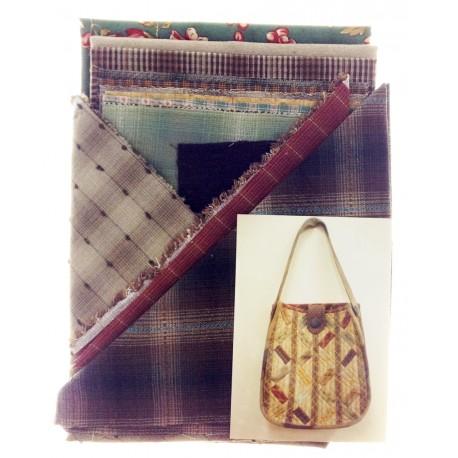 "Kit costura ""bolso molino"" Ideas Pacth&Quilt"
