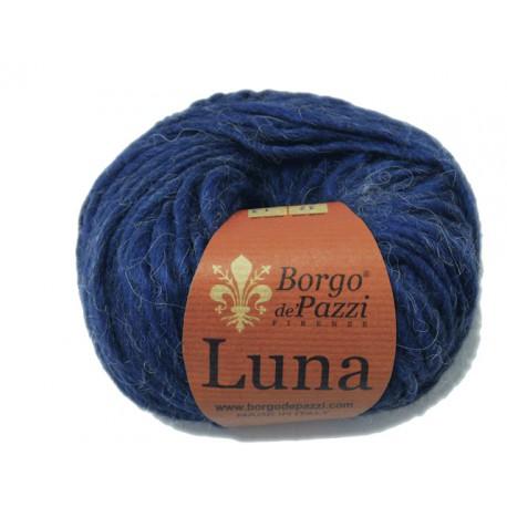 Lana Luna color azul. (Borgo di Pazzi)